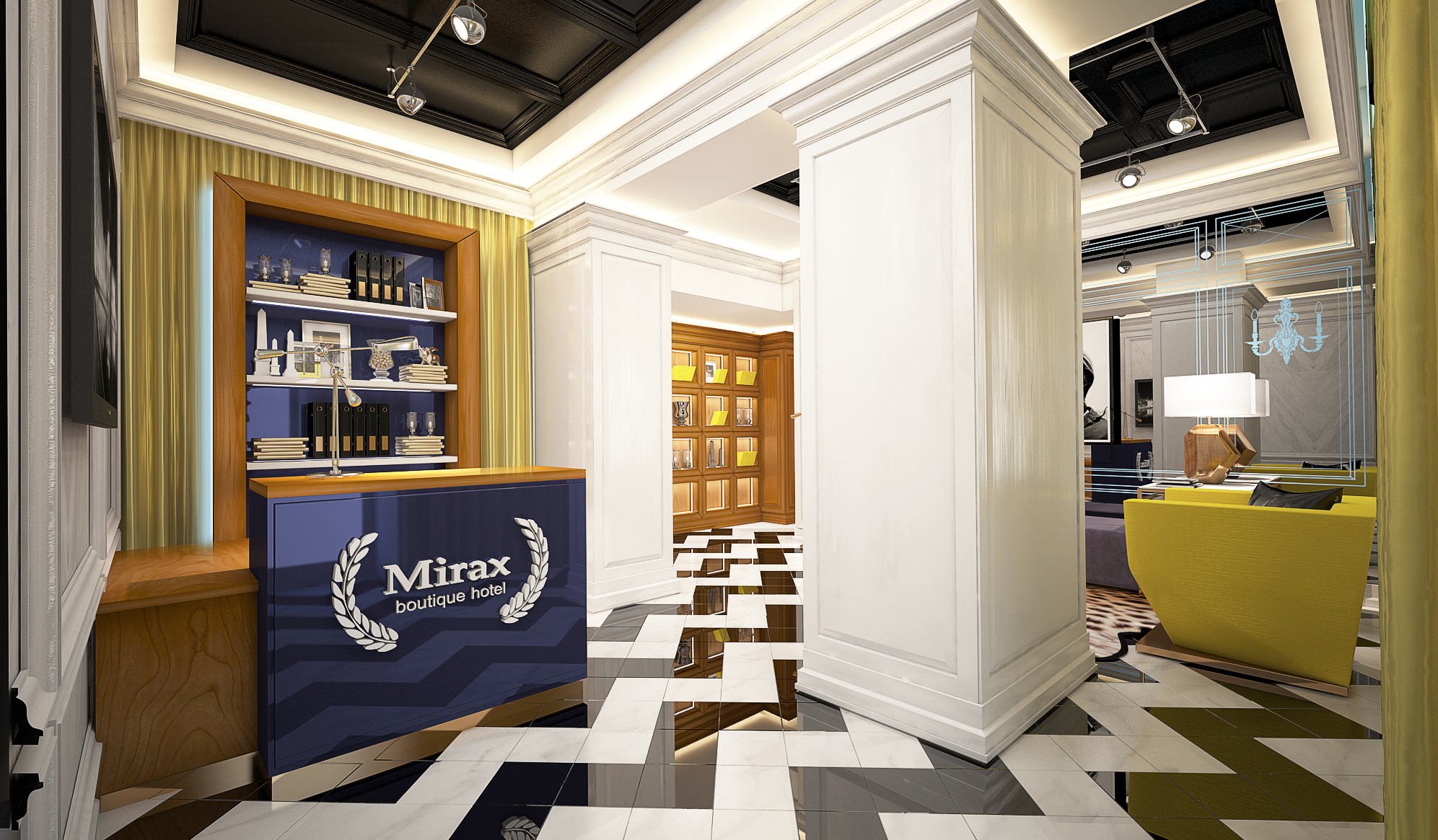 Mirax Sapphire Boutique Hotel в Харькове